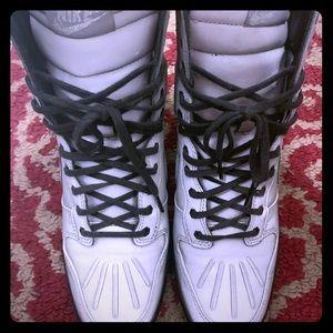 Nike Gray Reflective Wedge Sneakers